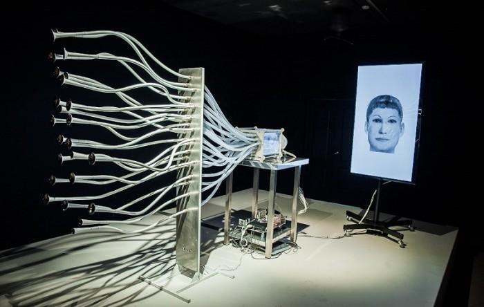 Фотографии выставки «Регистратура» в музее современного искусства PERMM (2014)